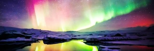 The most beautiful auroras and polar skies