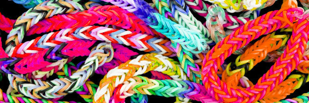 Longest Loom Band Bracelet