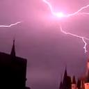 Lightning Strikes Over Cinderella's Castle