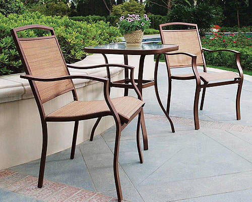 mainstays bistro set