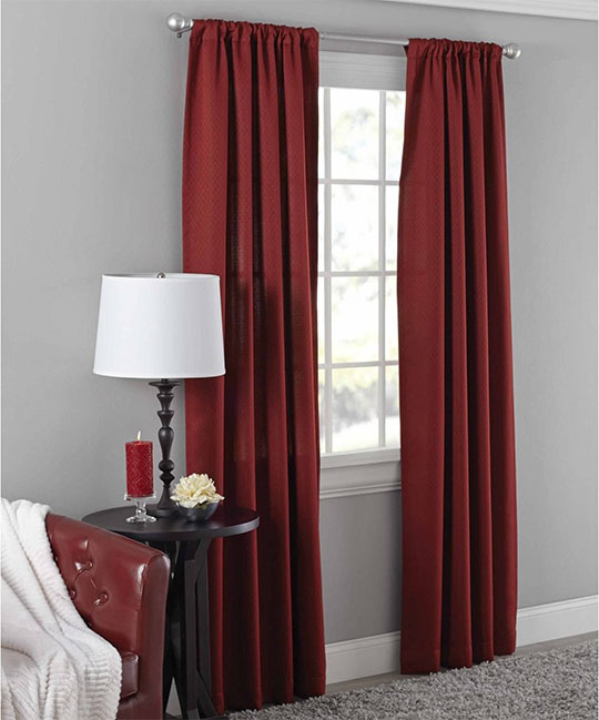 mainstays curtain panel