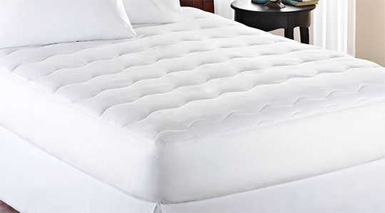 mainstays mattress pad