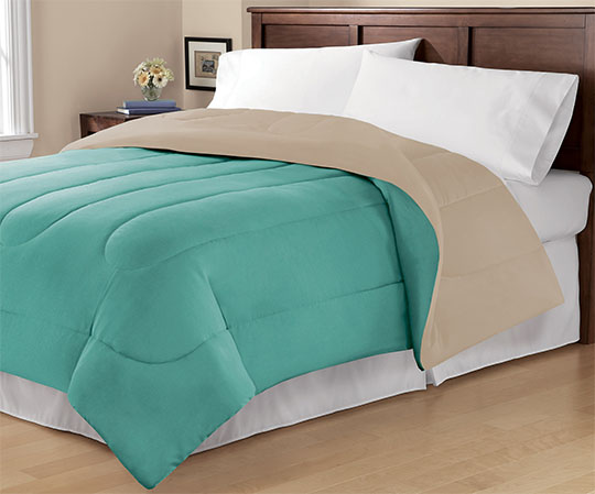 Mainstays reversible comforter