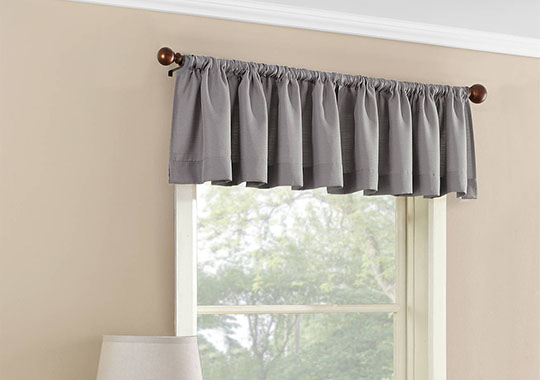 mainstays valance curtain